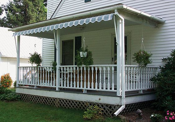 These Beautiful Custom Made Window and Porch Awnings will ...