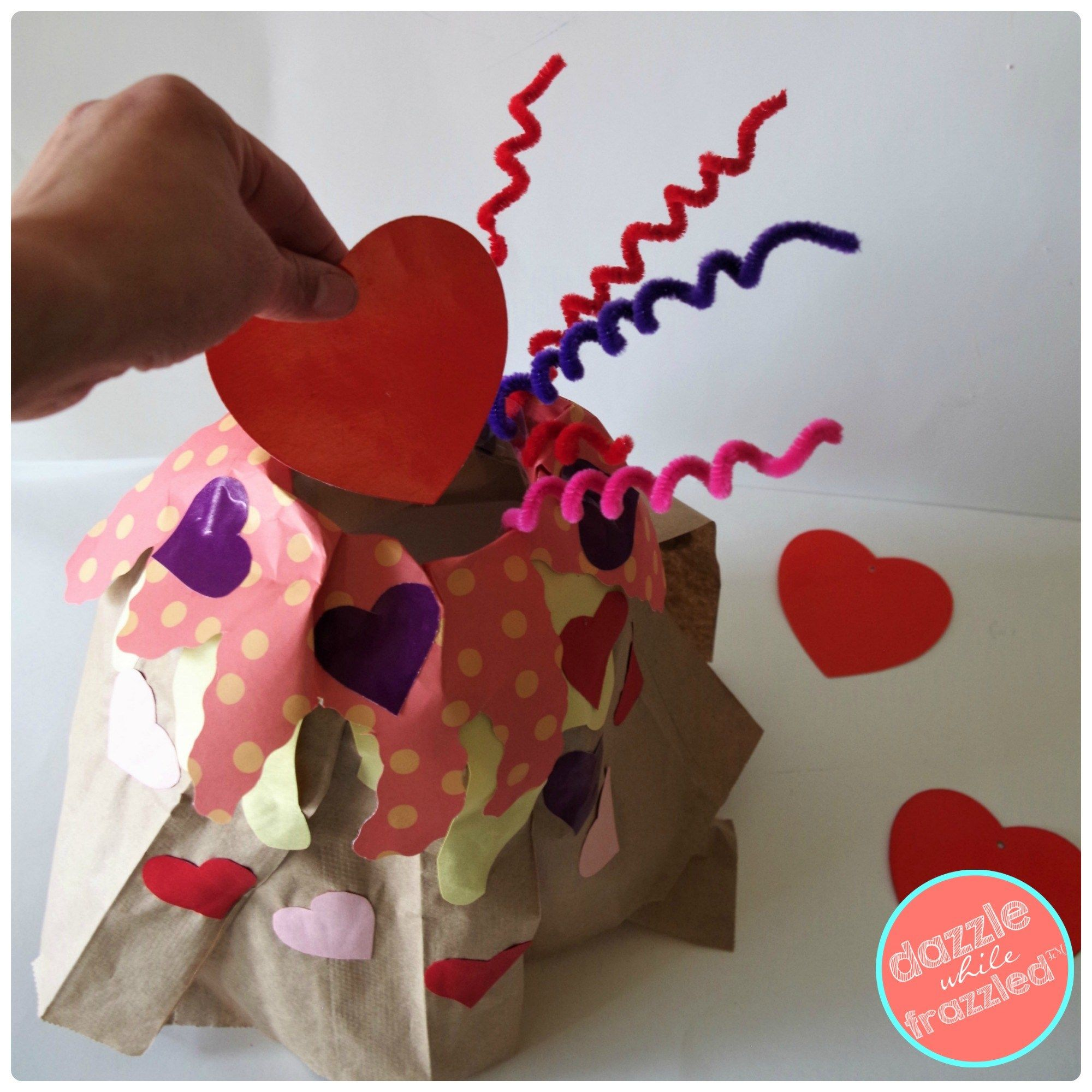 How To Make Love Volcano Valentine S Day Card Box With Images