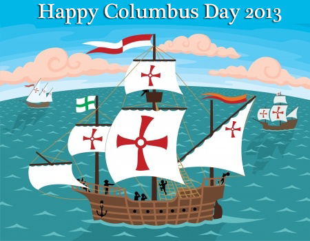 Happy Columbus Day from the whole team at ReplaceUPSbattery.com :)