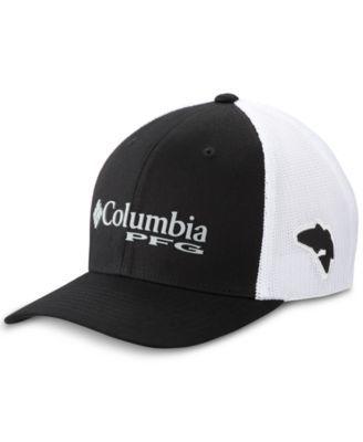 a5b312031c851 Columbia Men s Pfg Mesh Ball Cap - Green L XL in 2019