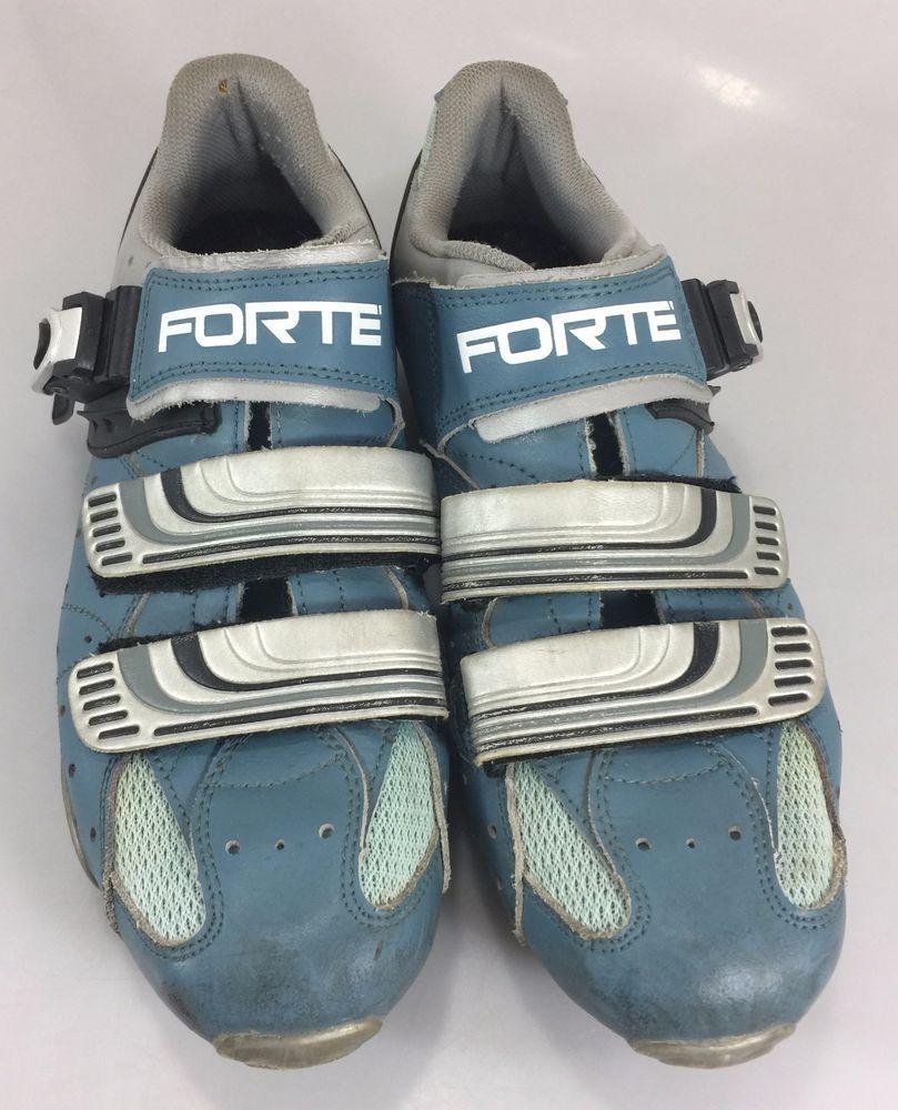 Forte Cycling Bike Shoes 8 Men 7 UK