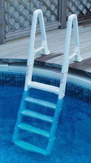 Above Ground Pool Ladders Attached Pool Ladder Pool Steps Pool Deck Plans