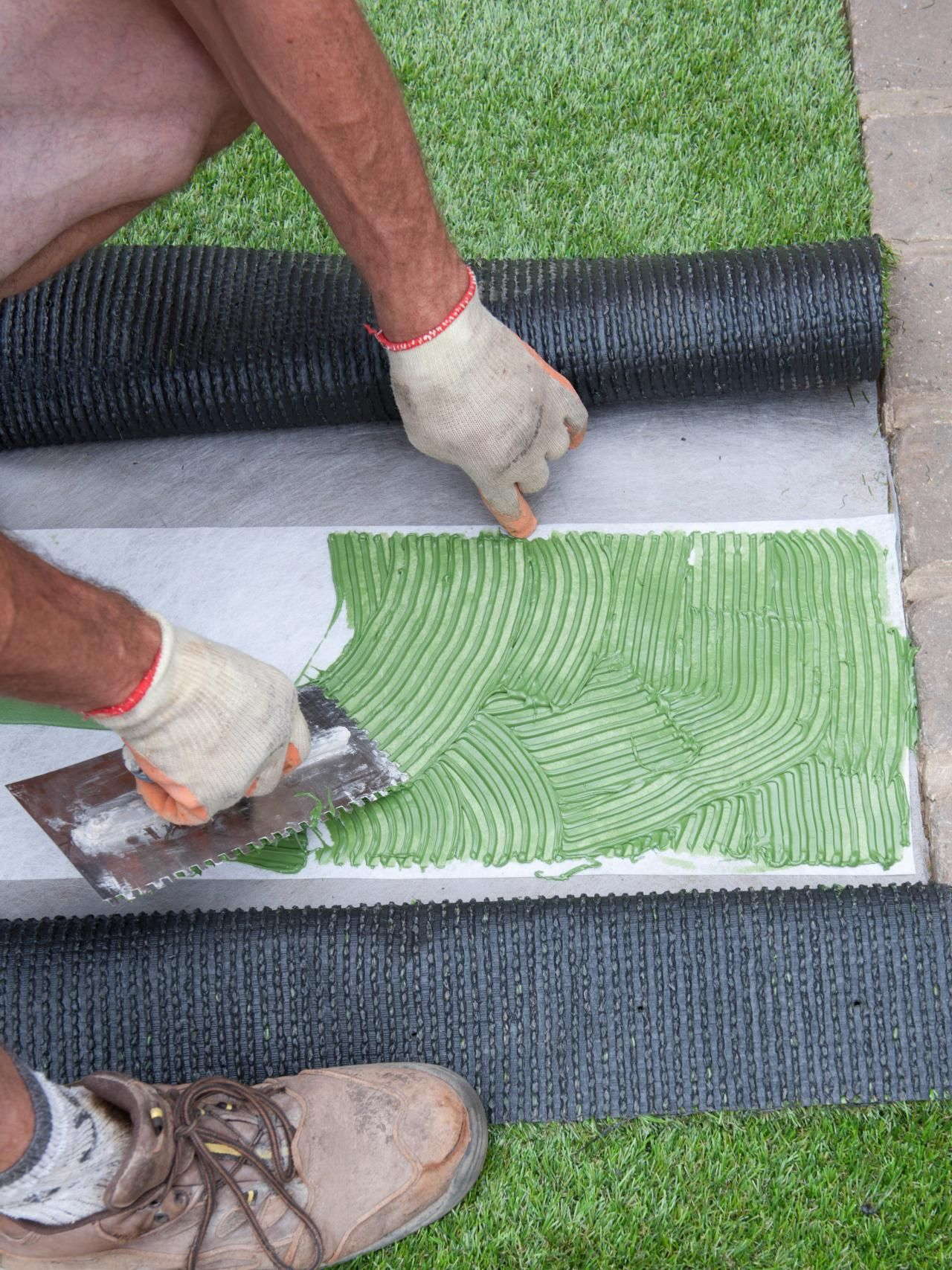 How To Lay Artificial Turf Landscaping Artificial Turf