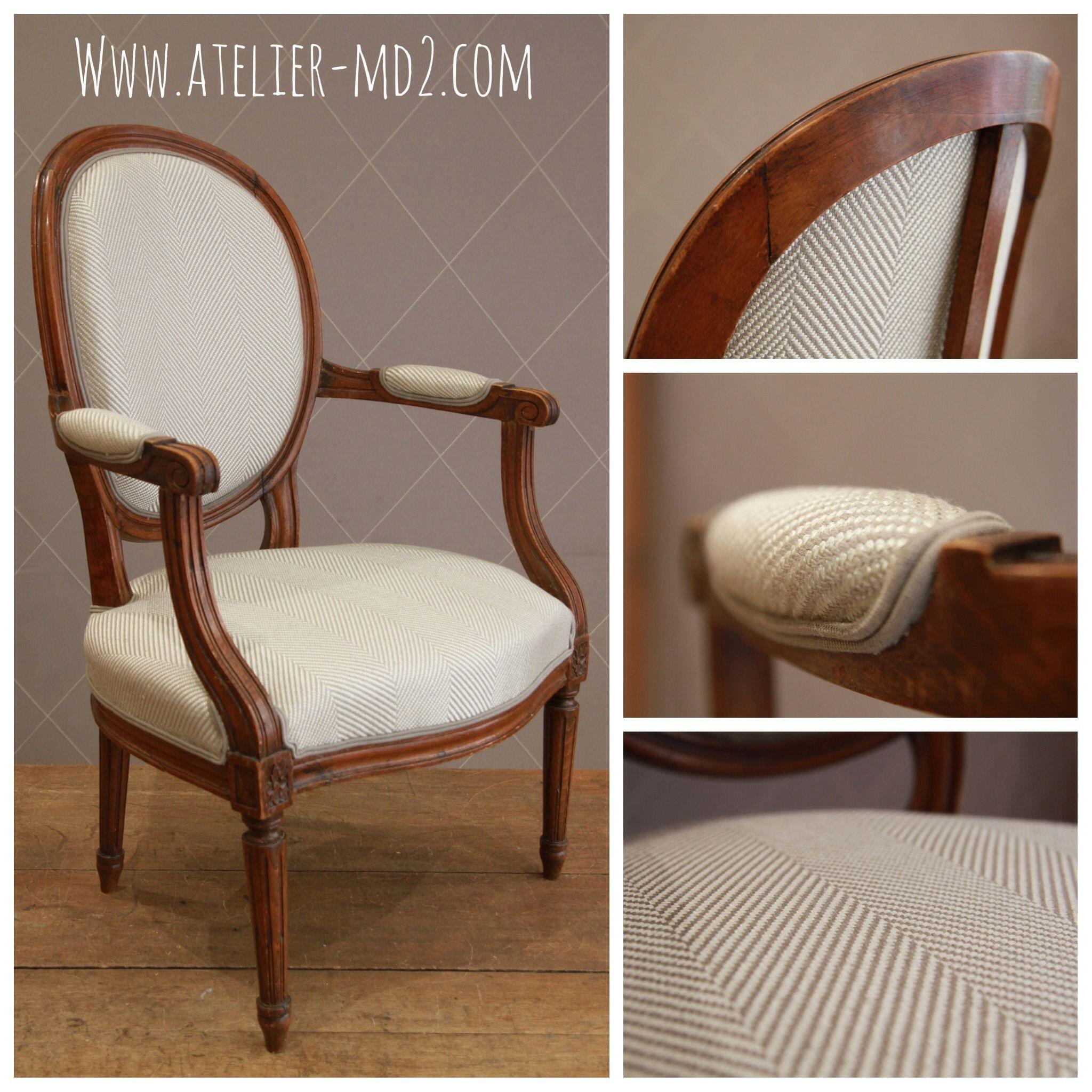 chevrons pour fauteuils m daillon louis xvi fauteuil. Black Bedroom Furniture Sets. Home Design Ideas