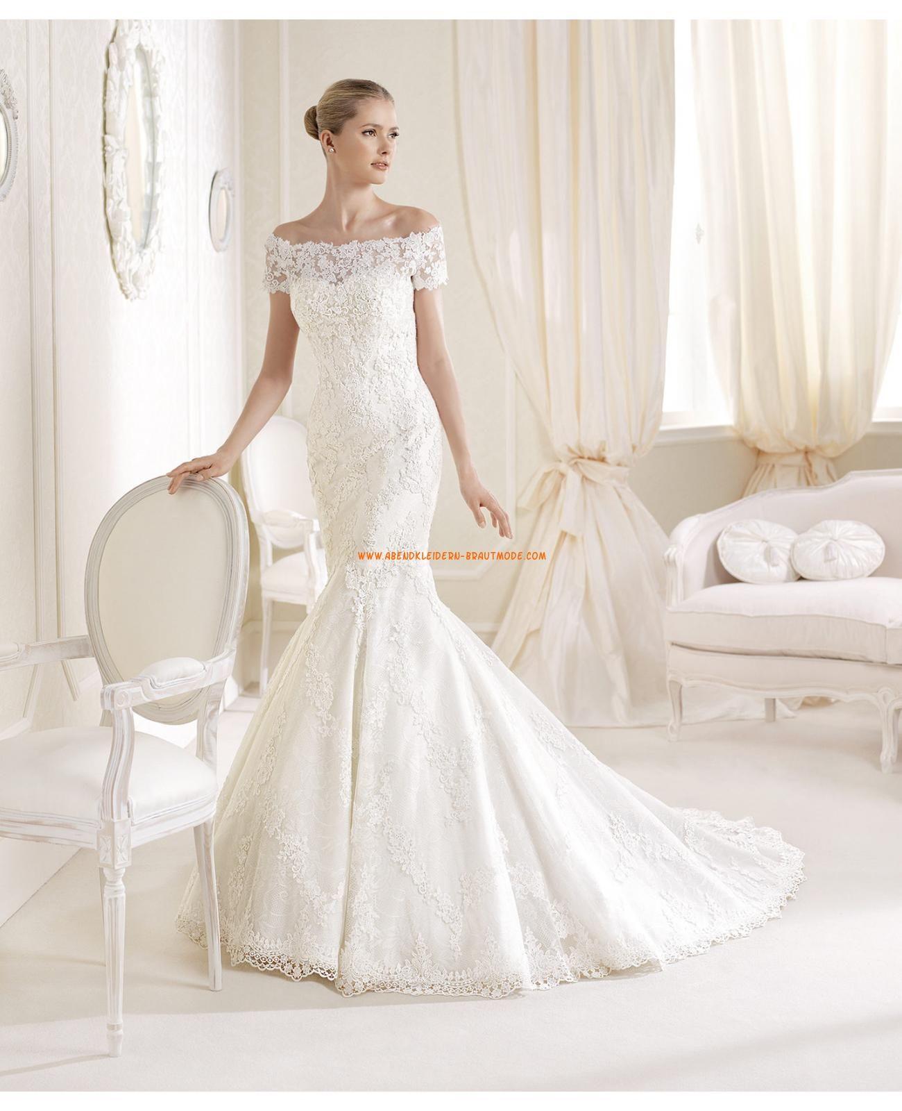Hochzeitskleid spitze 2015
