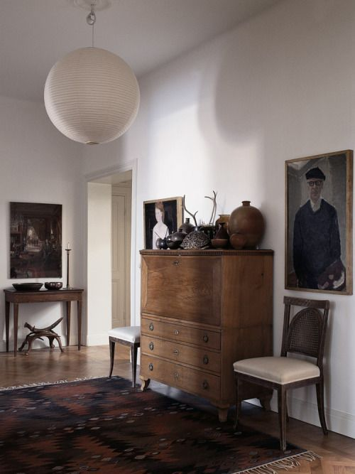 scandinaviancollectors: The apartment of illustrator Mats... | frankly esoteric | Bloglovin'