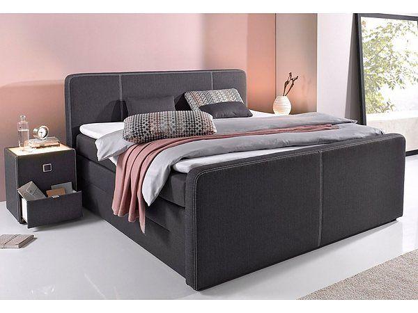 Jetzt Boxspringbett mit Bettkasten inkl Topper und Kissen günstig - schlafzimmer mit boxspringbetten schlafkultur und schlafkomfort