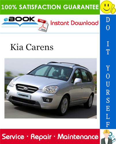 2006 Kia Carens Service Repair Manual Repair Manuals Repair Kia
