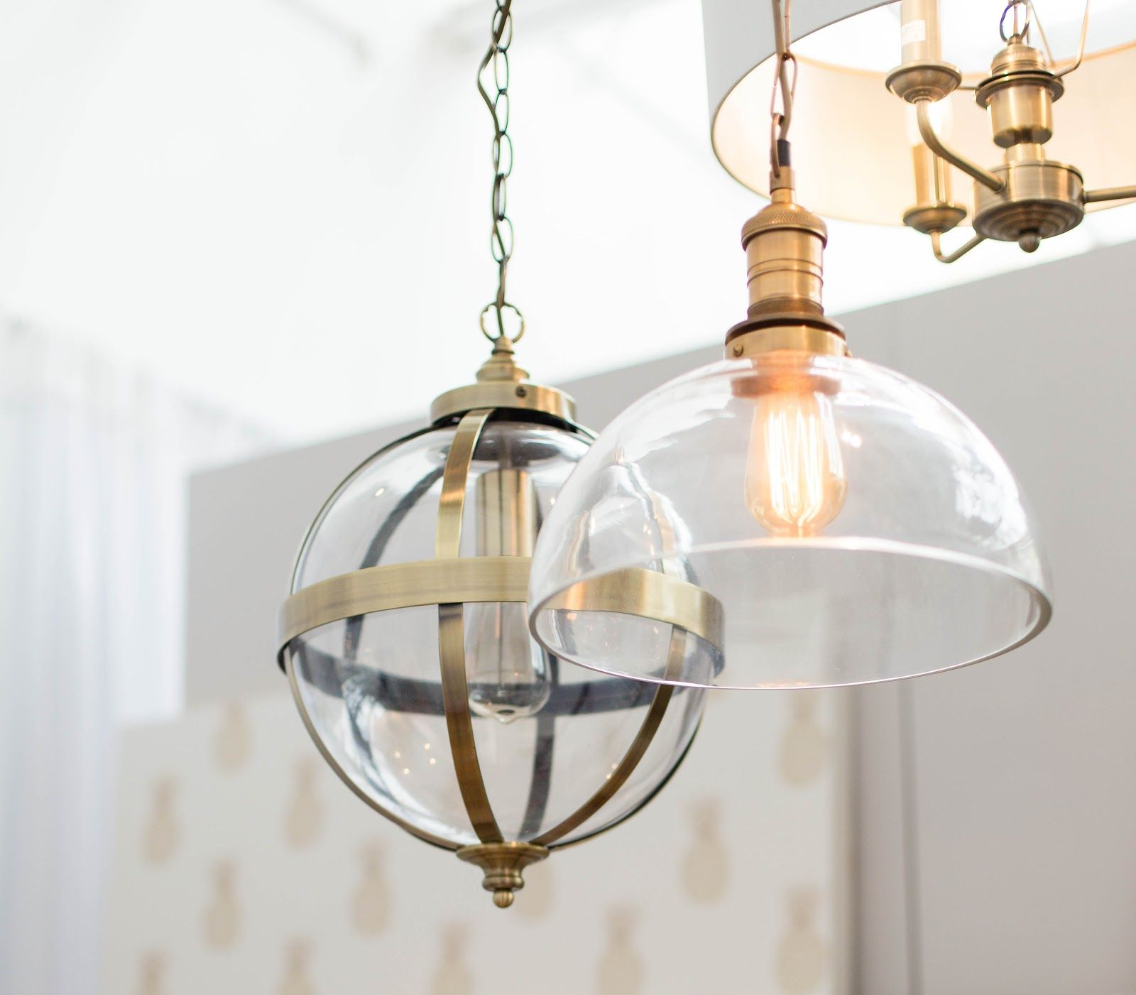 industrial chic lighting. Industrial Lighting. Chic Brass. Lighting