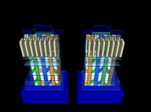 RJ45 Diagrama de cableado Electricidad