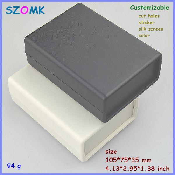 Diy Enclosure Split Body Enclosure Abs Plastic Case 1 Pcs 105 75 35mm Desk Top Plastic Project Enclosure Junc Junction Boxes Plastic Case Projects