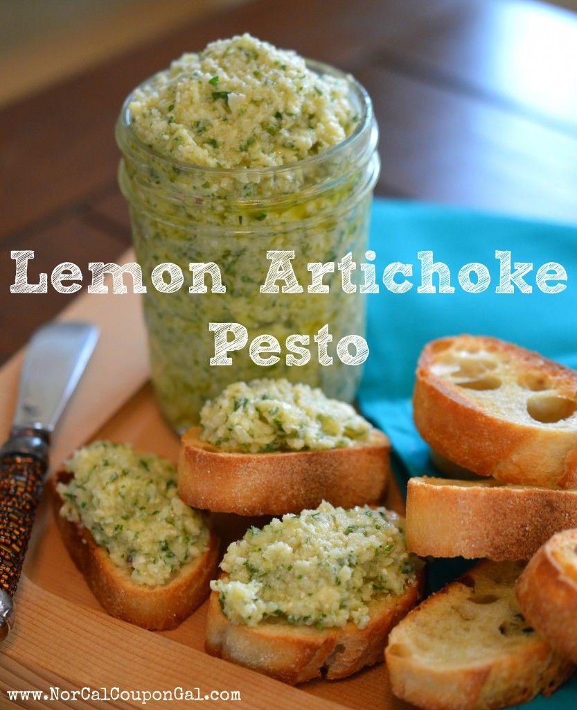Lemon Artichoke Pesto Recipe