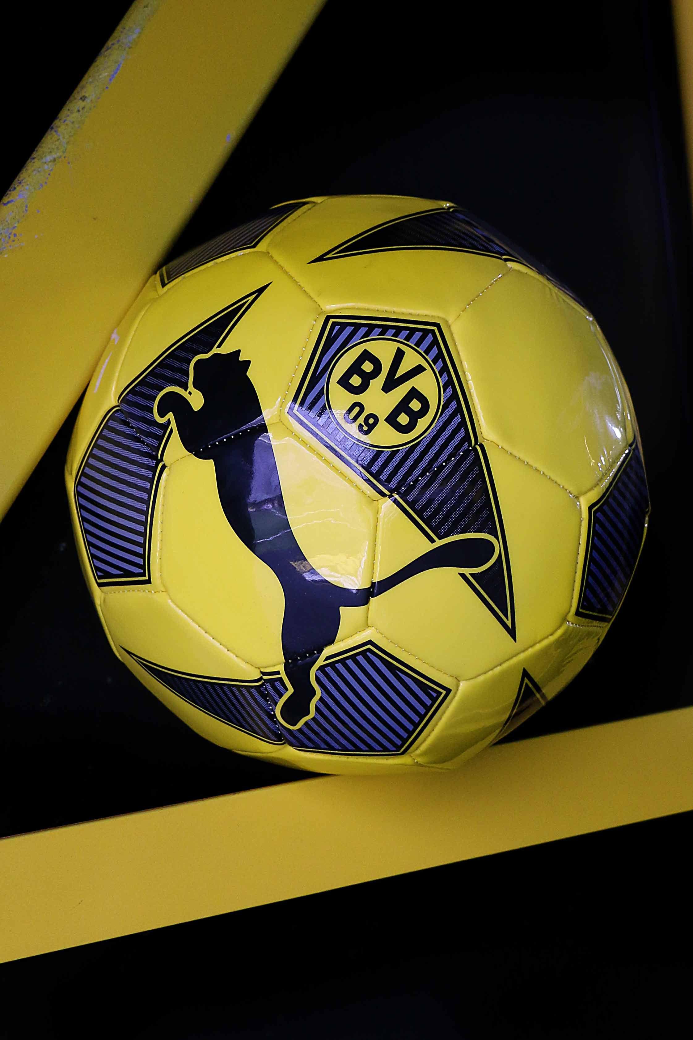 Balón talla 5 del Borussia Dortmund  puma  borussia 8cfdb911e8e6f