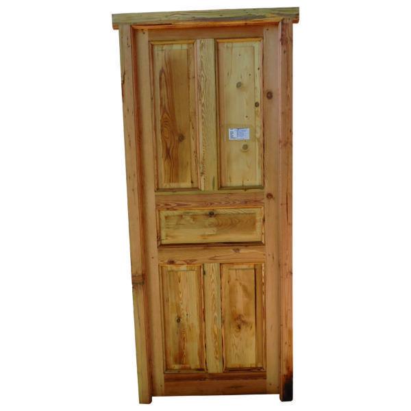 Puerta Cod. 2875 - Puerta tablero interior de madera pino tea, de ...