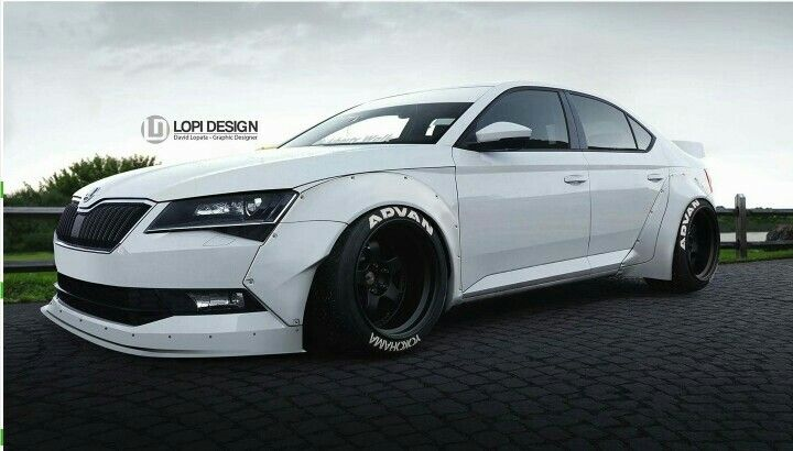 skoda superb 3v bodykit car cars motorcycles cars car. Black Bedroom Furniture Sets. Home Design Ideas
