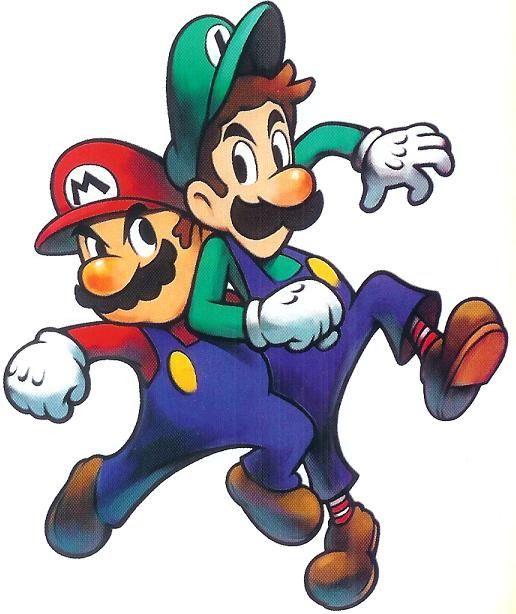 Luigi background. Free super mario clip