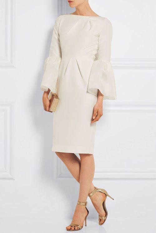 bell sleeves shift dress | Lovika