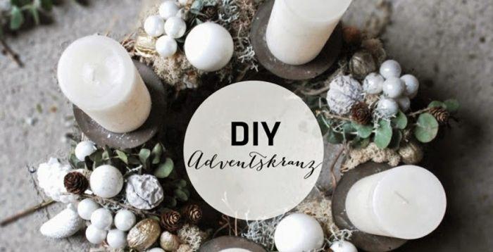 die besten 25 grossen adventskranz selber machen ideen auf pinterest weihnachtlich dekorieren. Black Bedroom Furniture Sets. Home Design Ideas