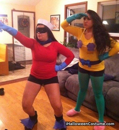 Mermaid Man and Barnacle Boy \u2013 DIY Halloween Costumes - Halloween - funny couple halloween costumes ideas