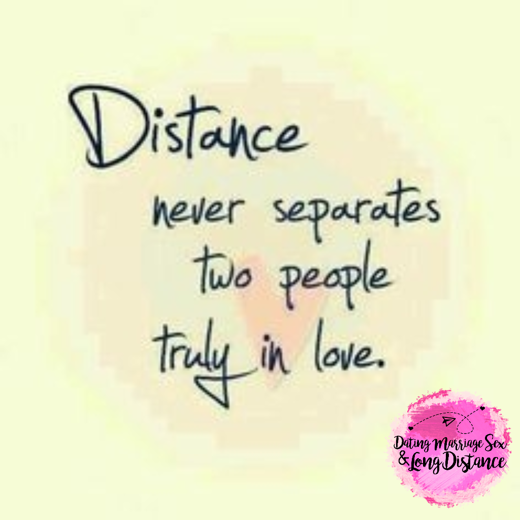 Love Each Other When Two Souls: Long Distance Relationships Suck... But Makes Us Enjoy The
