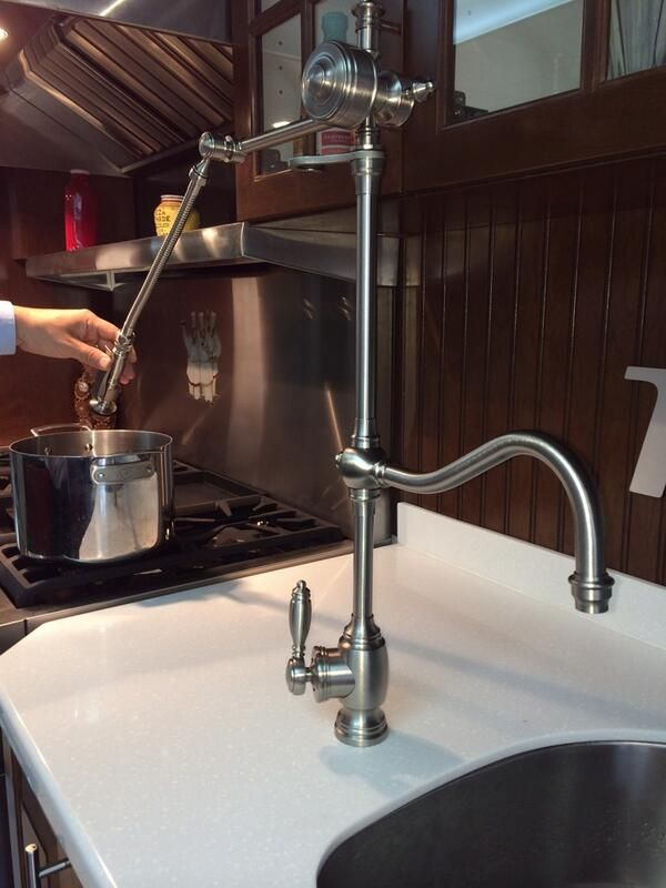 Waterstone 4400 Gantry Pulldown Faucet | Renovation | Pinterest ...