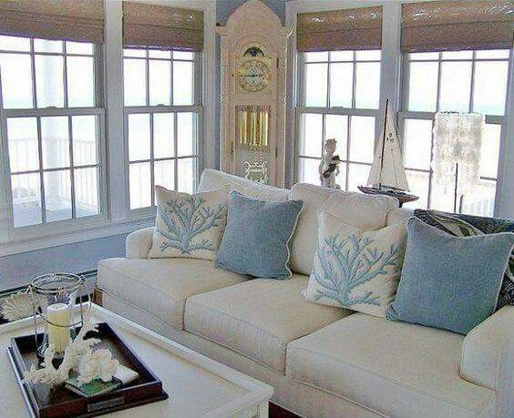 Pin By Mervat On Love To Be Here Beach Theme Living Room
