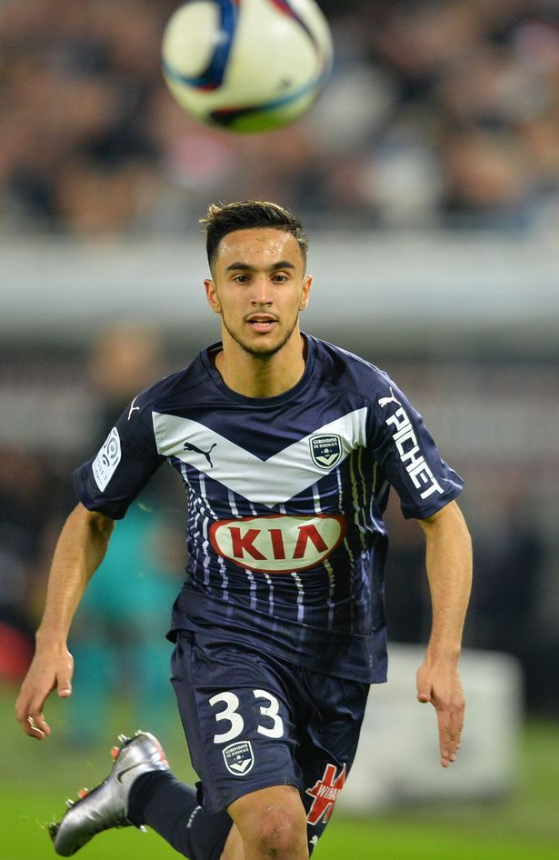 Bordeaux winger Adam Ounas suggests hes moving to Man United via Twitter & Instagram