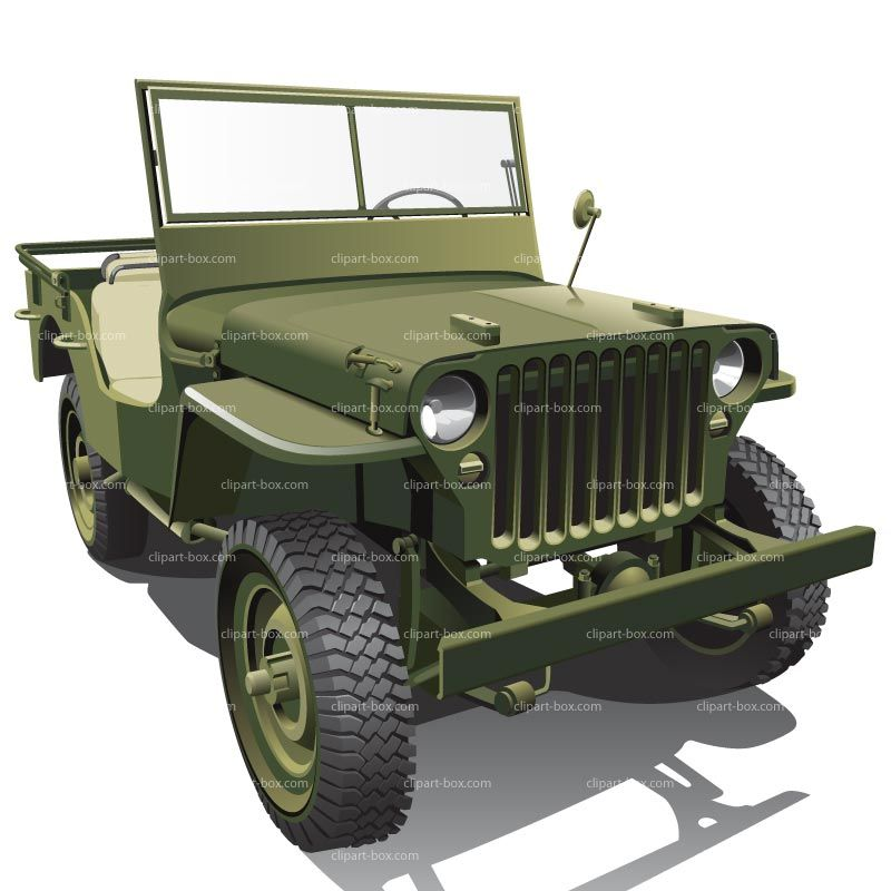 Clipart Us Army Jeep Royalty Free Vector Design Jeep Mini
