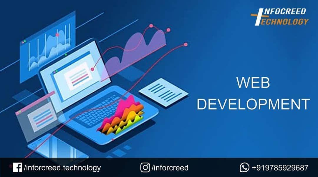 Web Development Infocreed Technology Realize Your Digital Dreams Webdevelopment Mobileap In 2020 Development Software Development Mobile App Development