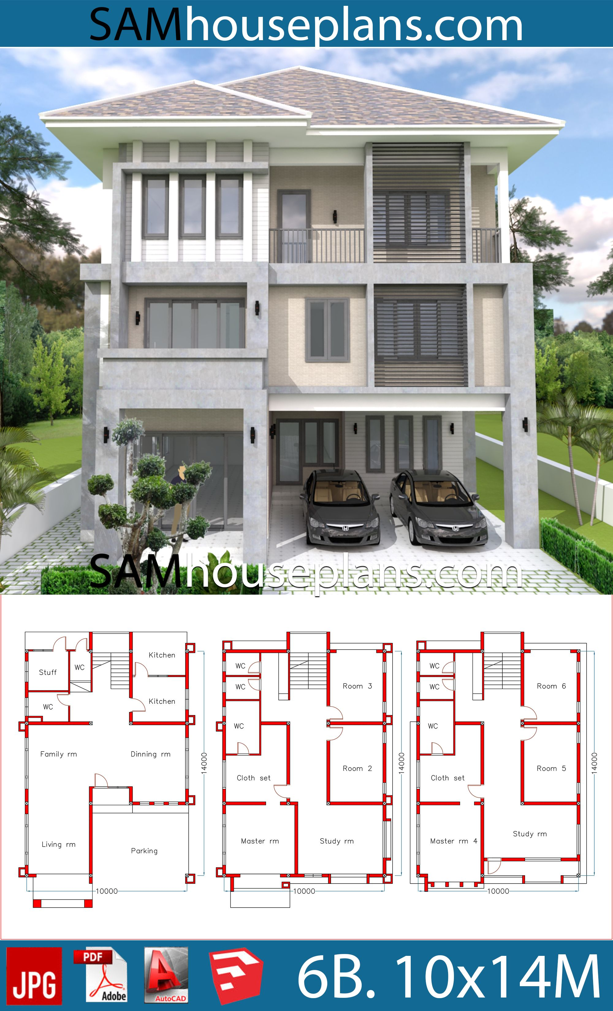 House Plans 10x14 With 6 Bedrooms House Plans Free Downloads Modern House Plans 6 Bedroom House Plans Model House Plan