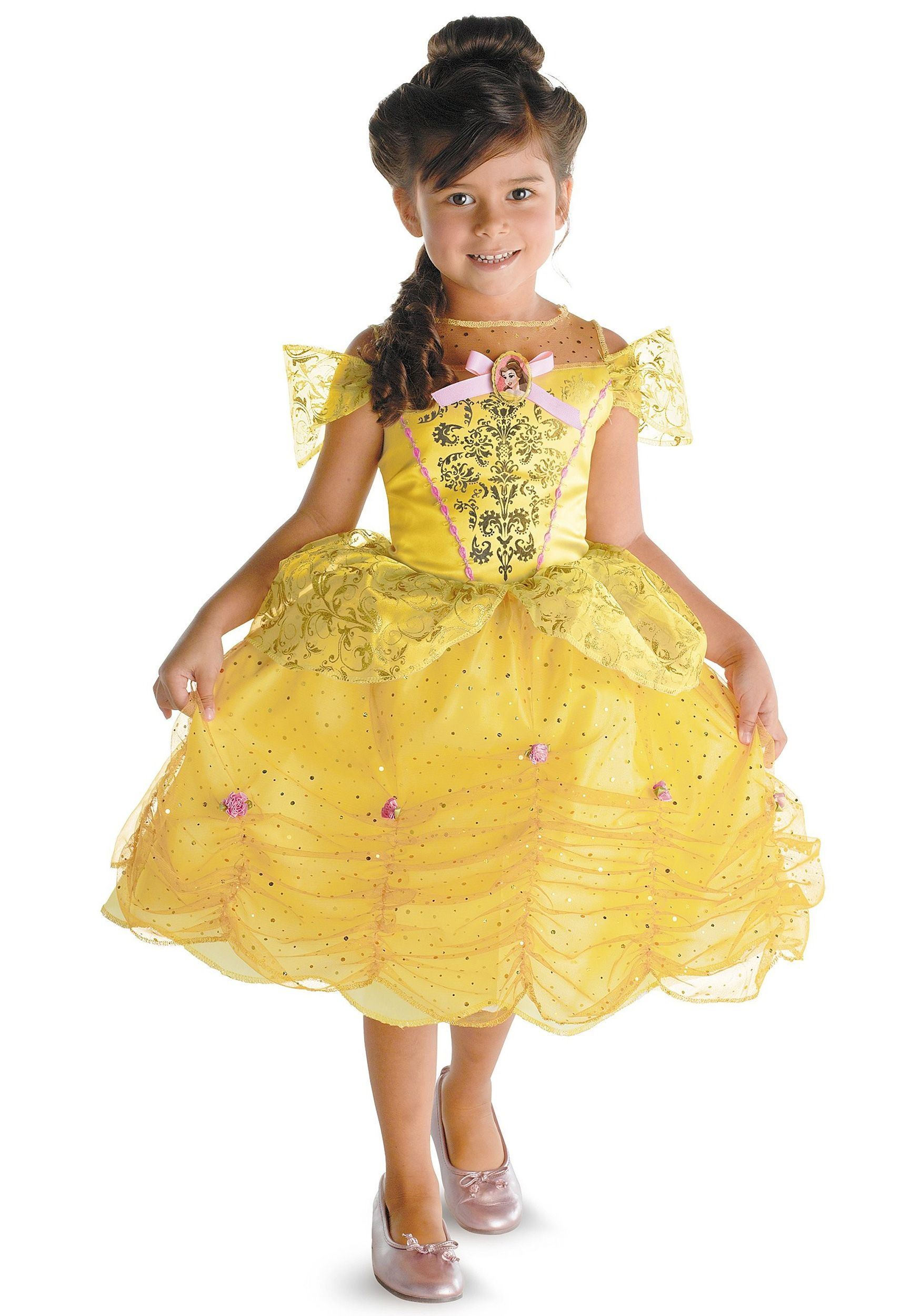 Details about Disney Girls Baby BELLE BEAUTY & the BEAST costume ...