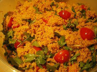 Sekundentakt: Couscous-Pesto-Salat