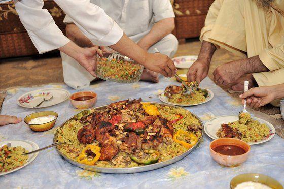 Eat Like A Sustainable Saudi Arabian Chicken And Rice Kabsa Recipe Kabsa Recipe Recipes Kabsa Recipe Chicken
