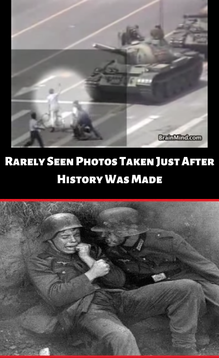Rarely Seen Photos Taken Just After History Was Made