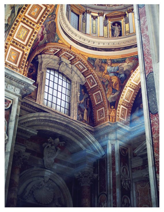Photo Vatican Detail Iii 8x10 Rome Italy Rome By