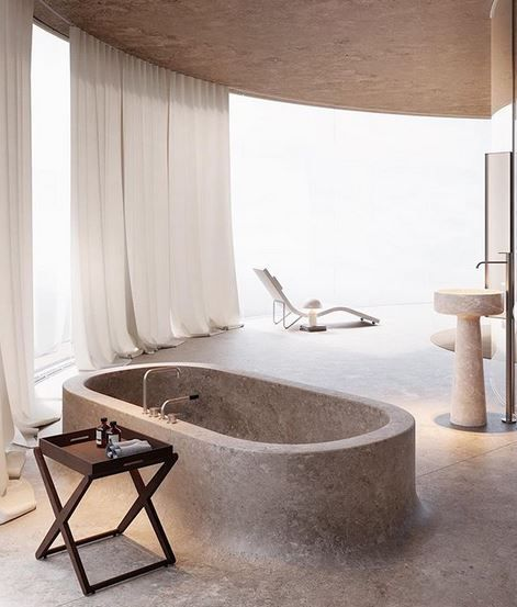 Excellent Photographs contemporary Bathroom Furniture Suggestions Bathing rooms are usually an important part of the domestic nonetheless in spite of its unquestionab #Bathroom #Contemporary #Excellent #Fur #spa design architecture lighting
