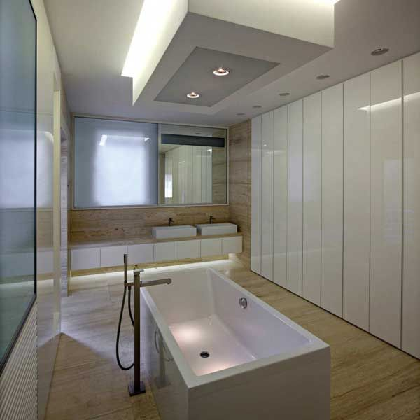 Sophisticated Modern Downtown Apartment In Zagreb Apartment Bathroom Small Bathroom Bathroom Design