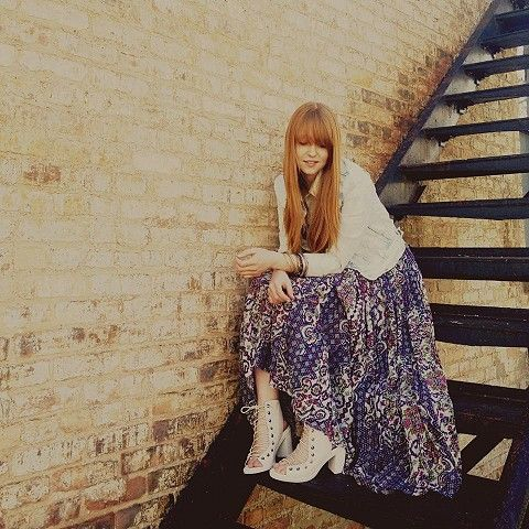 FP ONE Geo Gypsy Maxi Dress style pic
