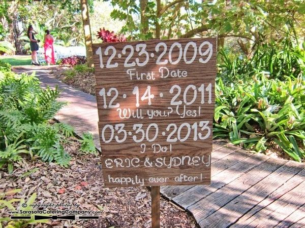 Marie Selby Botanical Gardens Wedding In Sarasota, FL By Sarasota Catering  Company (910)