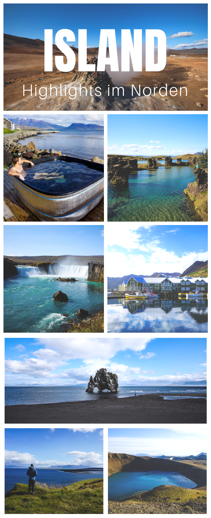 Photo of The sights in Northern Iceland at a glance