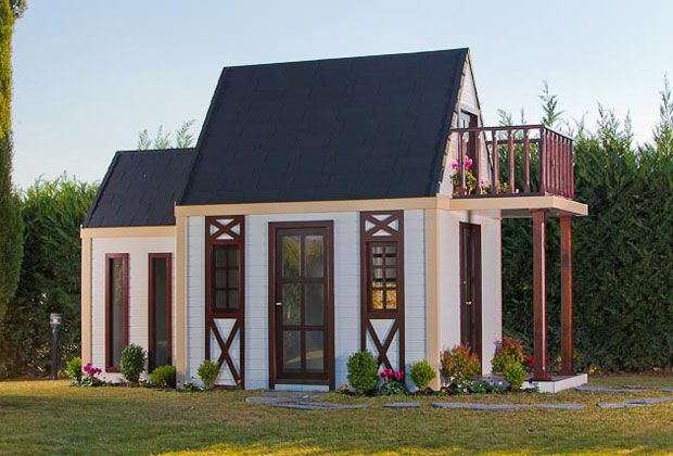 Luxury Small World casitas de jardín para niños de lujo