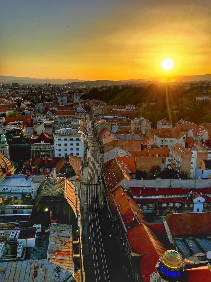 Pogled Prema Zapadu Photo C Ivica Skocic Croatia Zagreb Photo