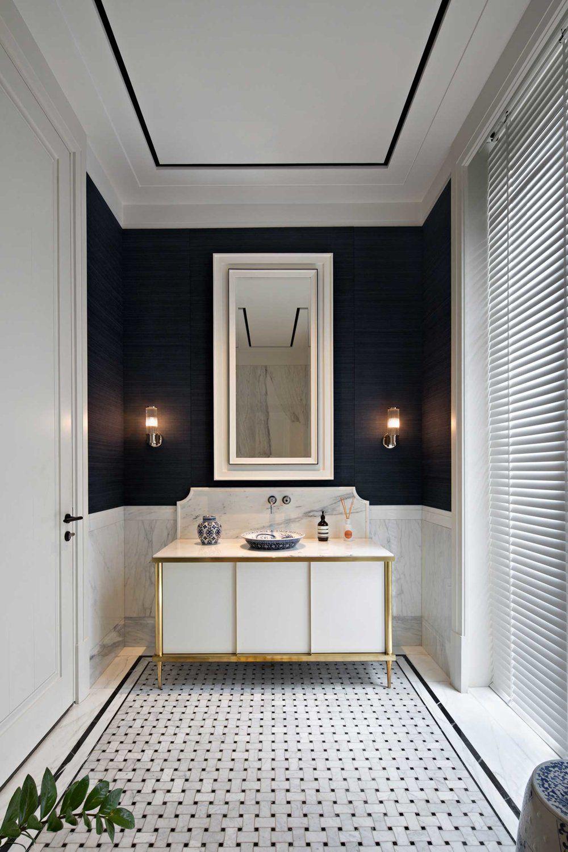 Contemporary Colonial Design Anthology Contemporary Colonial Colonial Style Interior Colonial Interior British colonial bathroom decor