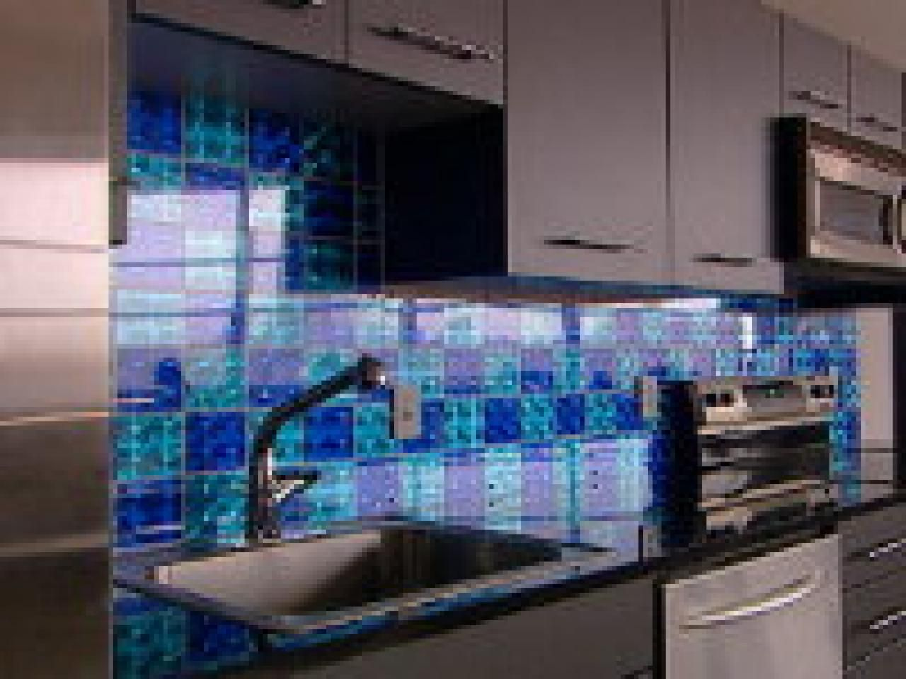 How To: Creating A Holographic Checkerboard Backsplash | Holographic ...