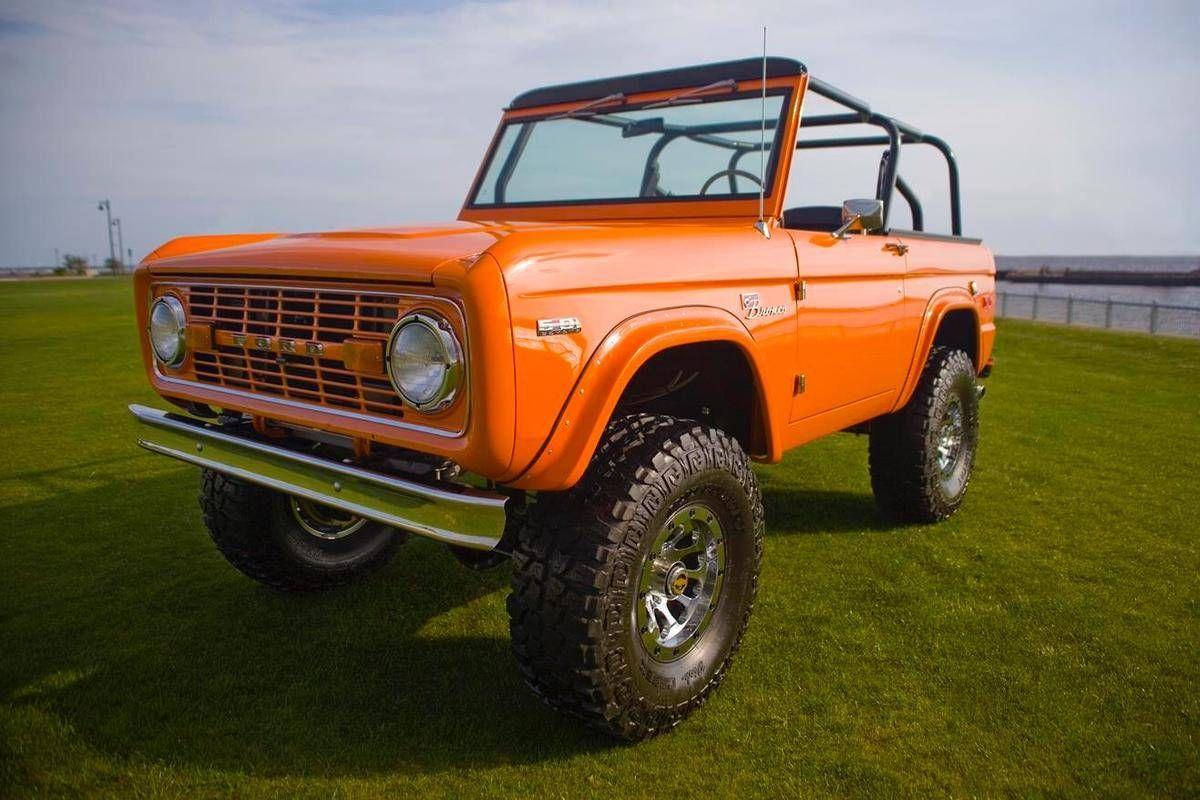 1972 ford bronco coyote custom build 4 of 17