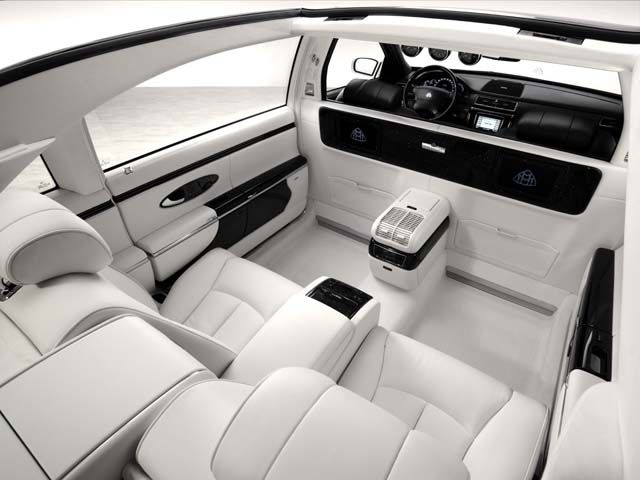 Maybach Comes With Driver Pure Luxury Luxury Car Interior Best Luxury Cars Bugatti Cars