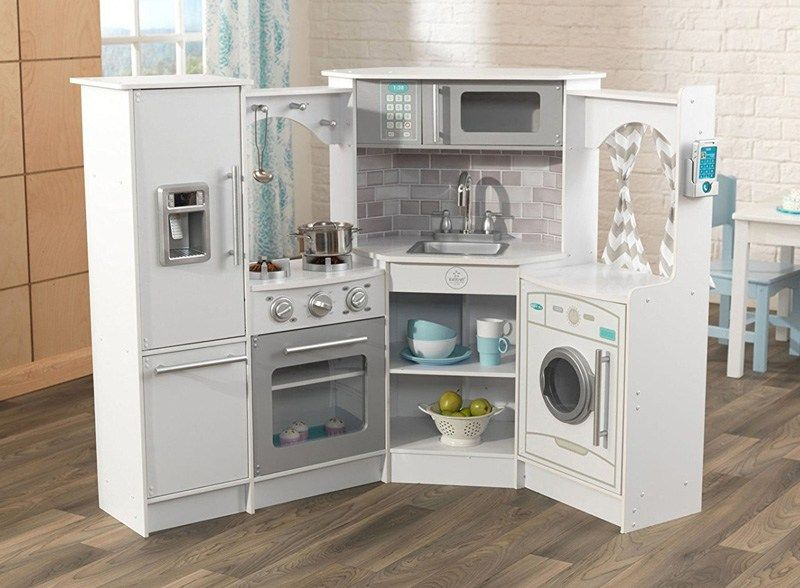 Kidkraft ultimate corner play kitchen set thrifty