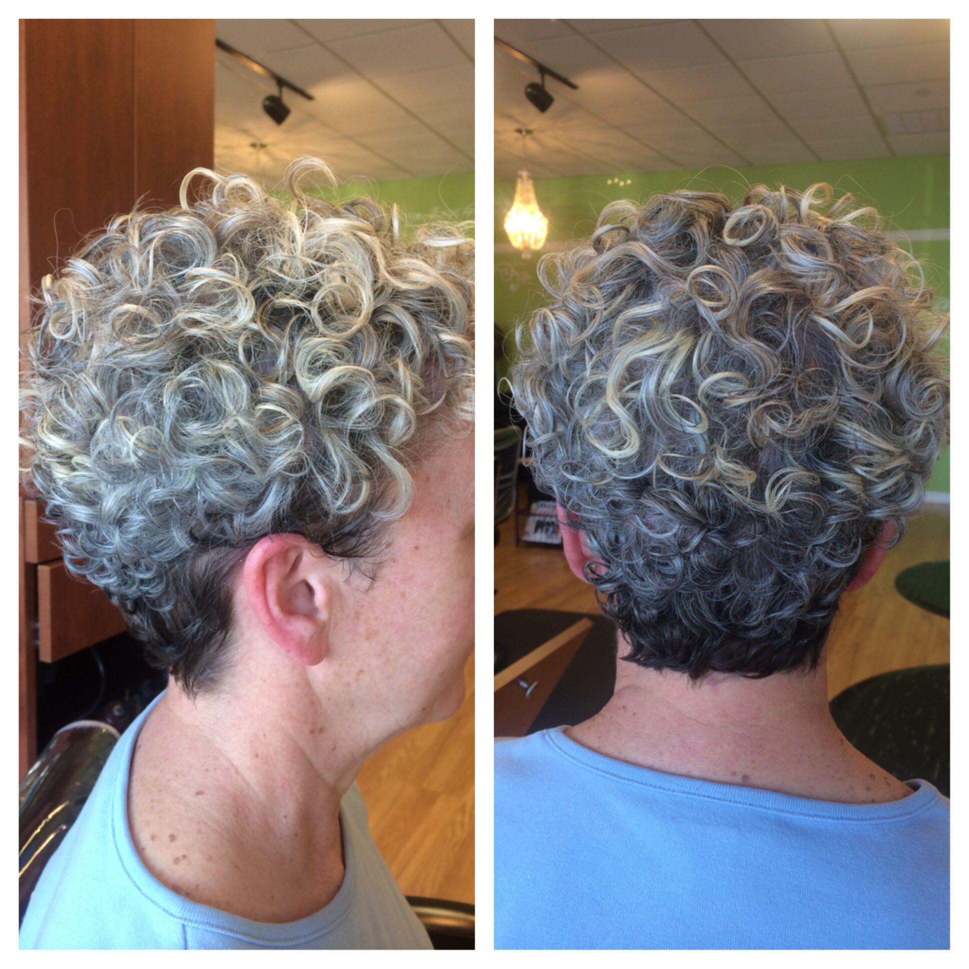 Grey Curls Short White Hair Short Silver Hair Curly Hair Styles