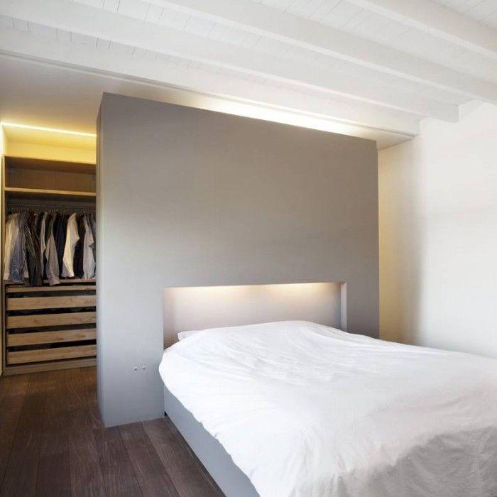 Een inloopkast geeft een slaapkamer een flinke extra luxe ...