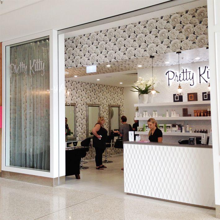Pretty Kitty Beauty Salon Beauty Salon Design Brisbane And Gold Coast Retail Designer Salon Design Beauty Salon Design Retail Design